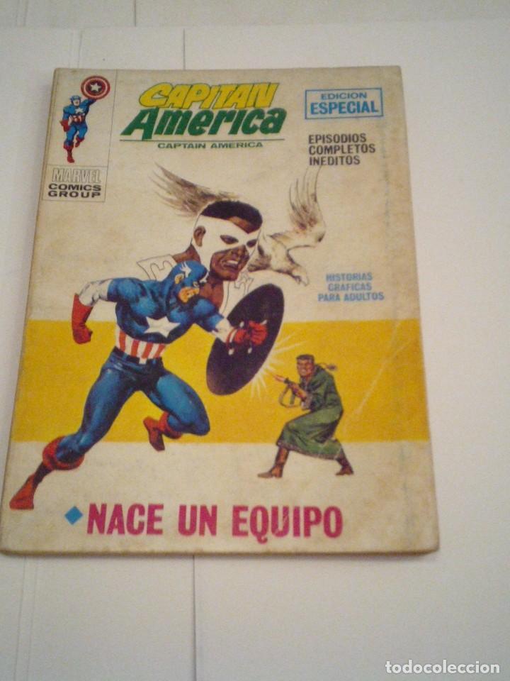CAPITAN AMERICA - VERTICE - VOLUMEN 1 - NUMERO 16 - CJ 108 - GORBAUD (Tebeos y Comics - Vértice - Capitán América)