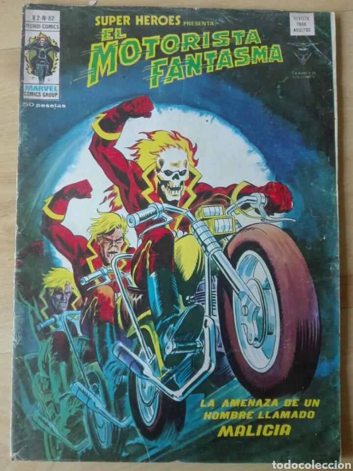 SUPER HÉROES VÉRTICE V2 Nº 82. MOTORISTA FANTASMA (Tebeos y Comics - Vértice - Super Héroes)