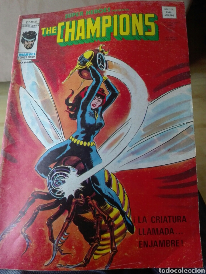 SUPER HÉROES Nº 84 V2. VÉRTICE. THE CHAMPIONS (Tebeos y Comics - Vértice - Super Héroes)