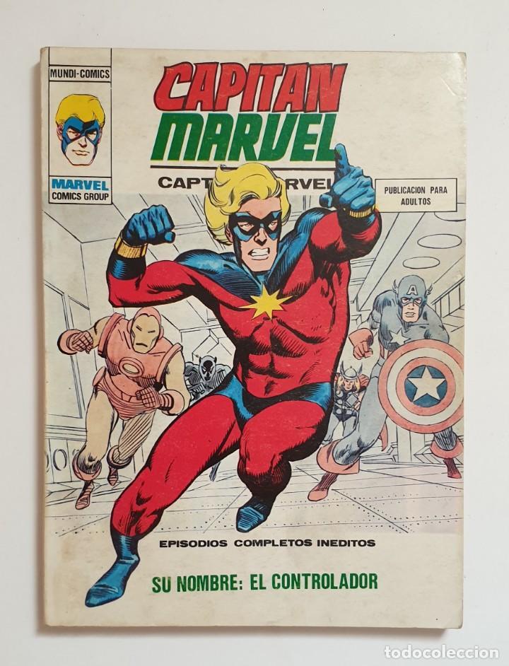 CAPITAN MARVEL Nº 13. VOL. 1 VERTICE (Tebeos y Comics - Vértice - V.1)