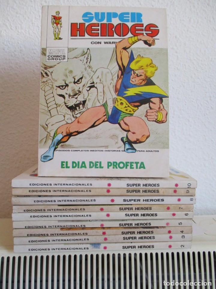 SUPER HEROES VERTICE ¡¡¡¡ EXCELENTE ESTADO !!!! COLECCION COMPLETA TACO (Tebeos y Comics - Vértice - V.1)