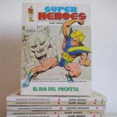 Cómics: SUPER HEROES VERTICE ¡¡¡¡ EXCELENTE ESTADO !!!! COLECCION COMPLETA TACO. Lote 170125852