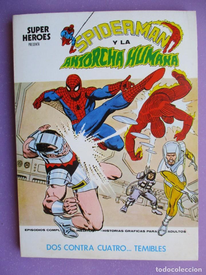 Cómics: SUPER HEROES VERTICE ¡¡¡¡ EXCELENTE ESTADO !!!! COLECCION COMPLETA TACO - Foto 7 - 170125852