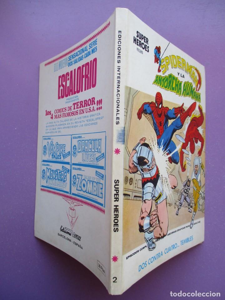 Cómics: SUPER HEROES VERTICE ¡¡¡¡ EXCELENTE ESTADO !!!! COLECCION COMPLETA TACO - Foto 9 - 170125852