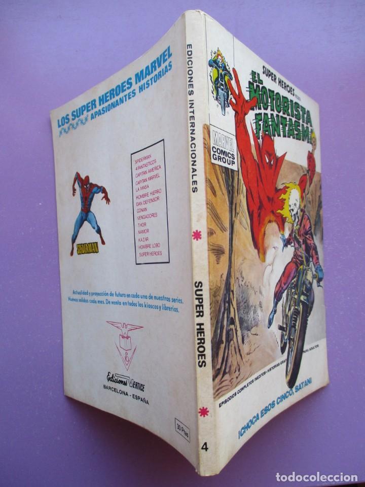 Cómics: SUPER HEROES VERTICE ¡¡¡¡ EXCELENTE ESTADO !!!! COLECCION COMPLETA TACO - Foto 17 - 170125852