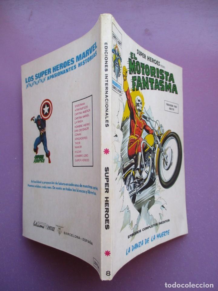 Cómics: SUPER HEROES VERTICE ¡¡¡¡ EXCELENTE ESTADO !!!! COLECCION COMPLETA TACO - Foto 33 - 170125852