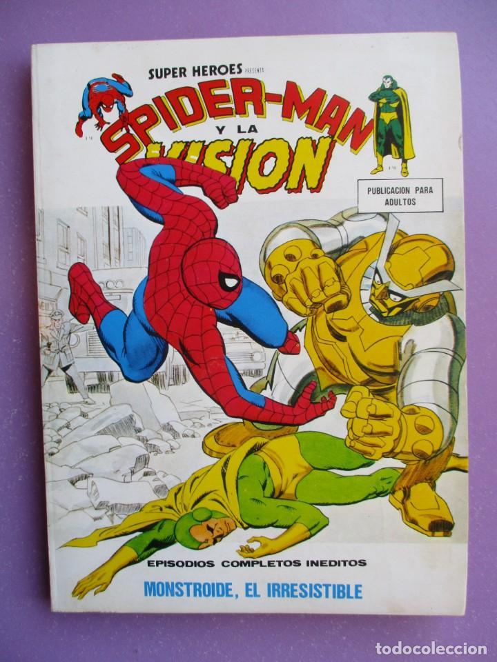Cómics: SUPER HEROES VERTICE ¡¡¡¡ EXCELENTE ESTADO !!!! COLECCION COMPLETA TACO - Foto 39 - 170125852