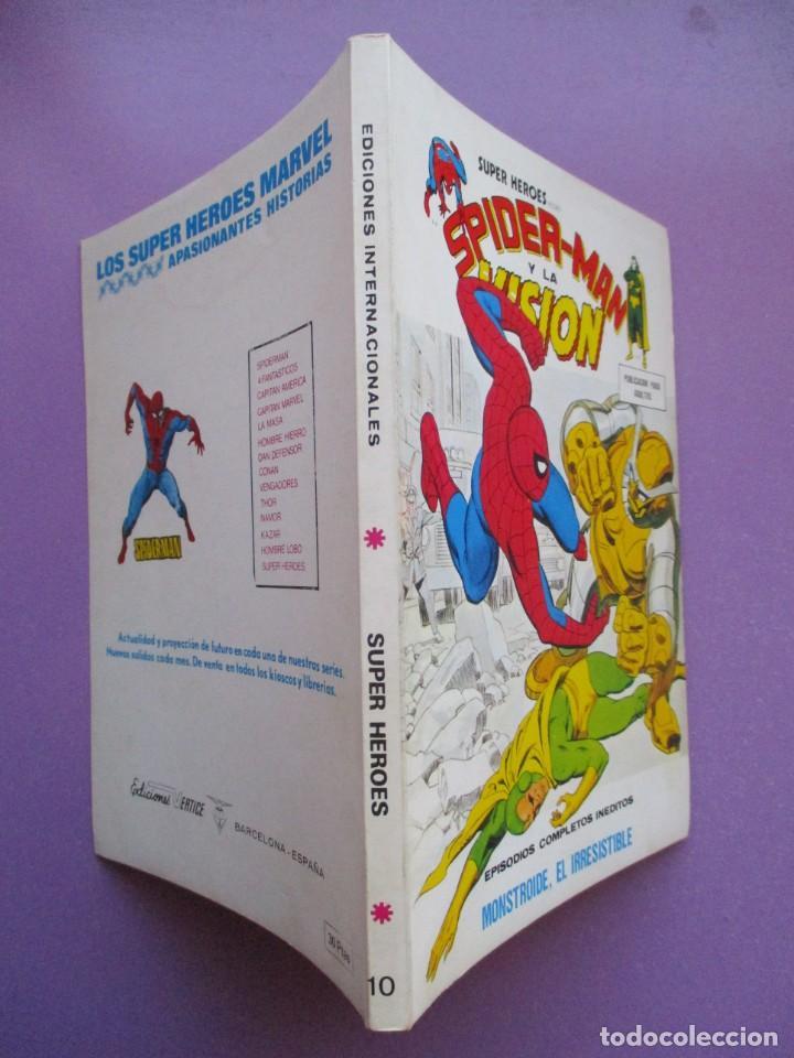 Cómics: SUPER HEROES VERTICE ¡¡¡¡ EXCELENTE ESTADO !!!! COLECCION COMPLETA TACO - Foto 41 - 170125852