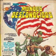 Cómics: MUNDOS DESCONOCIDOS TOMO 2. MUNDI-CÓMICS -CIENCIA FICCIÓN-. VÉRTICE 1975. Lote 170279184