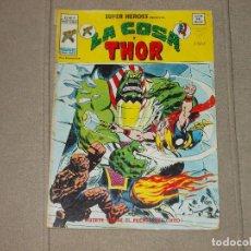 Cómics: SUPER HEROES VOL-2 Nº 77. LA COSA Y THOR. VERTICE. Lote 170415132