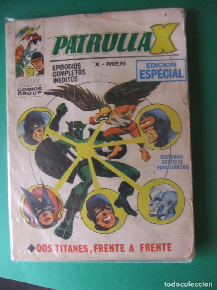 LA PATRULLA X Nº 13 VERTICE TACO (Tebeos y Comics - Vértice - Patrulla X)