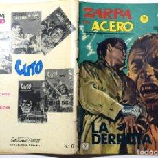 Cómics: ZARPA DE ACERO Nº 8 - LA DERROTA - AÑO 1965. Lote 170524004