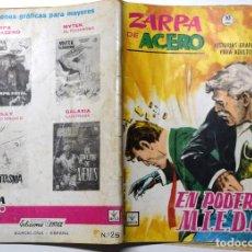 Cómics: ZARPA DE ACERO Nº 25 - EL PODER DE M.I.E.D.O. - AÑO 1965. Lote 170524116