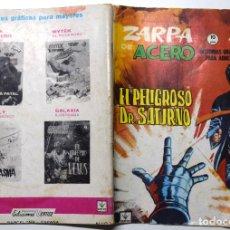 Cómics: ZARPA DE ACERO Nº ? - EL PELIGROSO DR. SATURNO. - AÑO 1965. Lote 170524684