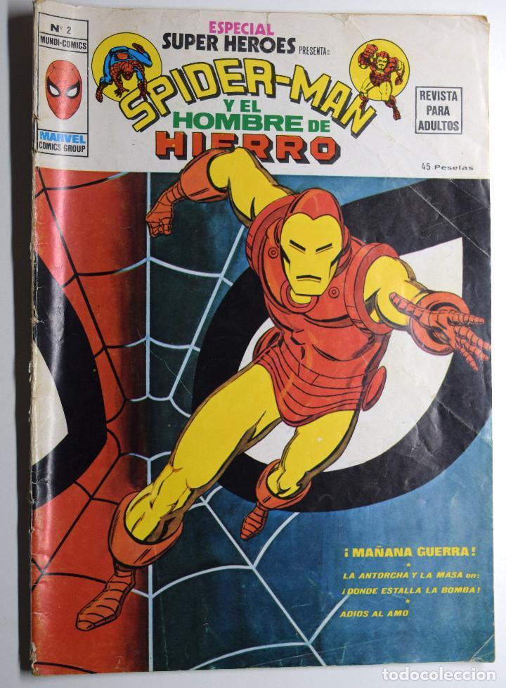 SPIDER-MAN Y EL HOMBRE DE HIERRO Nº 2 - BUEN ESTADO (Tebeos y Comics - Vértice - Surco / Mundi-Comic)