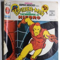 Cómics: SPIDER-MAN Y EL HOMBRE DE HIERRO Nº 2 - BUEN ESTADO. Lote 170540936