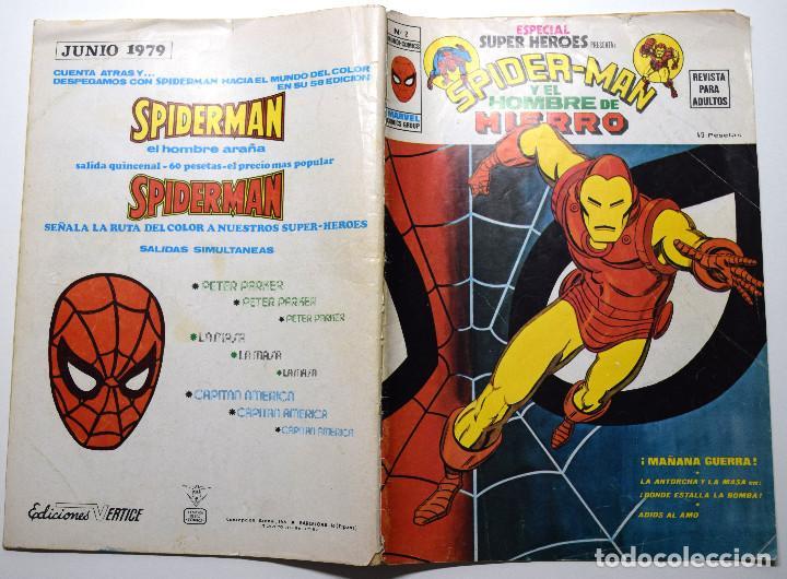 Cómics: SPIDER-MAN Y EL HOMBRE DE HIERRO Nº 2 - BUEN ESTADO - Foto 2 - 170540936