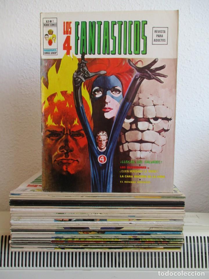 LOS 4 FANTASTICOS VOLUMEN 2 VERTICE ¡¡¡¡ MUY BUEN ESTADO !!!! (Tebeos y Comics - Vértice - V.1)