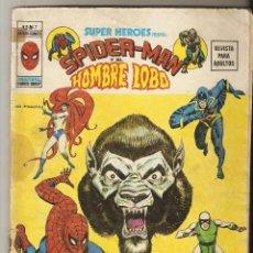Cómics: SUPER HEROES PRESENTA - SPIDERMAN Y EL HOMBRE LOBO - Nº 7 - VERTICE VOL2 -. Lote 171031040