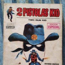 Cómics: 2 PISTOLAS KID VOL. 1 N° 1: DOS PISTOLAS KID, EN ACCION - LOPEZ ESPI (VERTICE 1971). Lote 171055864