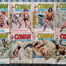 Cómics: CONAN THE BARBARIAN VOL. 1 N° 3, 7, 8, 10, 12, 14, 16 Y 18 - LOPEZ ESPI (VERTICE 1972). Lote 171057428
