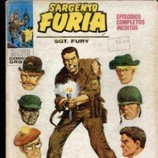 Cómics: SARGENTO FURIA Nº 1 . Lote 171104515