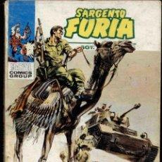Cómics: SARGENTO FURIA Nº 6. Lote 171104907