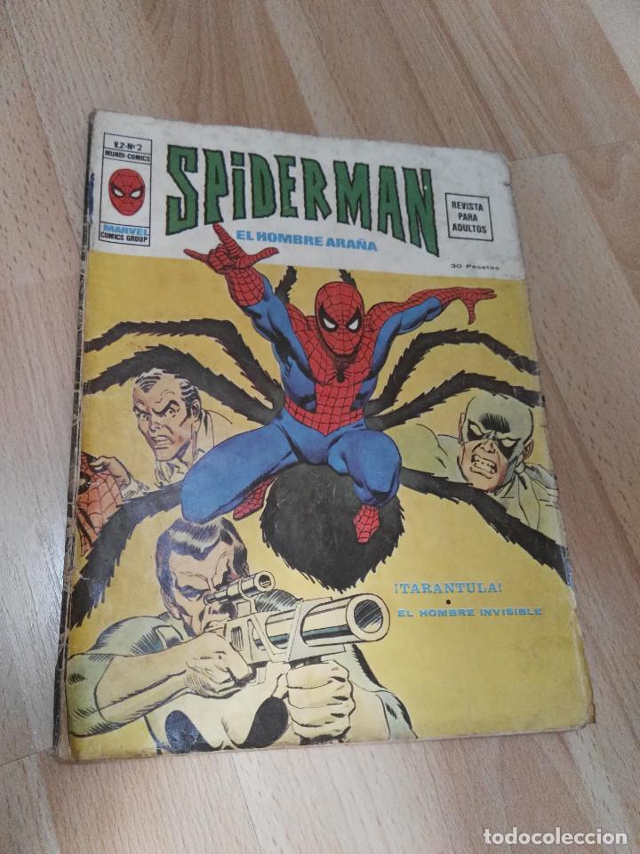 SPIDERMAN V 2 NUMERO 2 (Tebeos y Comics - Vértice - V.2)