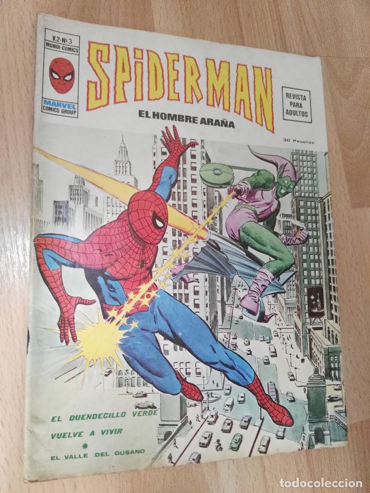 NÚMERO 3 DEL VOL. 2 DE SPIDERMAN (Tebeos y Comics - Vértice - V.2)