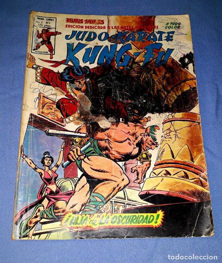 MUNDI-COMICS ARTES MARCIALES Nº 4 ED. VERTICE ORIGINAL DESDE 1 EURO VER FOTO Y DESCRIPCION (Tebeos y Comics - Vértice - Relatos Salvajes)