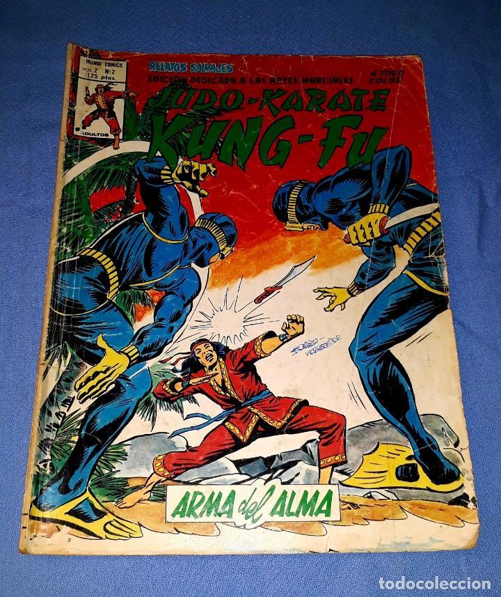 MUNDI-COMICS ARTES MARCIALES Nº 2 ED. VERTICE ORIGINAL DESDE 1 EURO VER FOTO Y DESCRIPCION (Tebeos y Comics - Vértice - Relatos Salvajes)