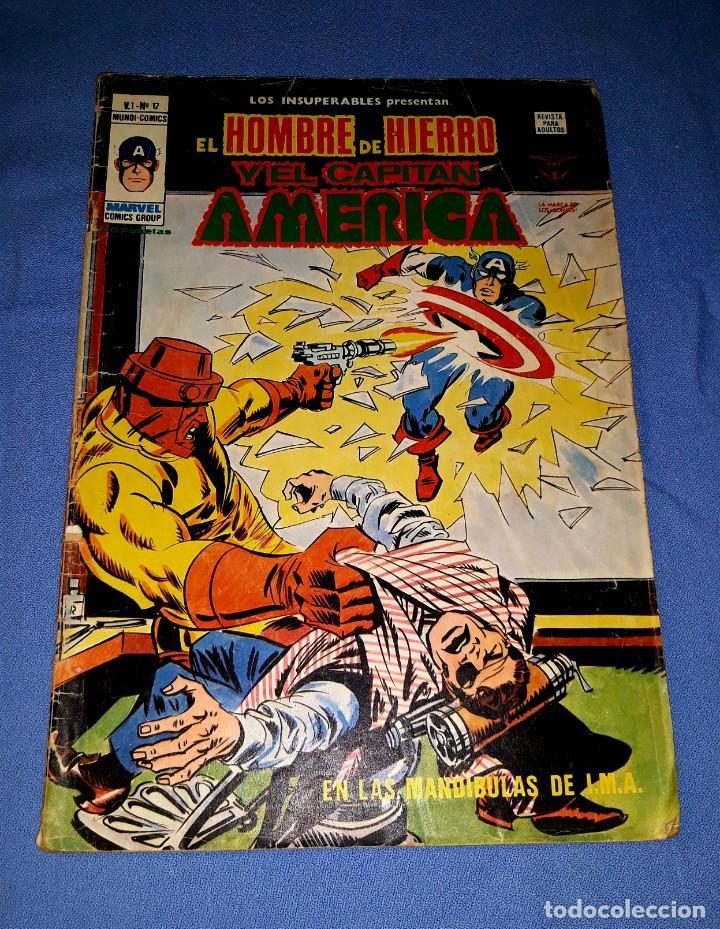 MUNDI-COMICS CAPITAN AMERICA Nº 17 ED. VERTICE ORIGINAL DESDE 1 EURO VER FOTO Y DESCRIPCION (Tebeos y Comics - Vértice - Capitán América)