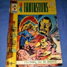 Cómics: MUNDI-COMICS LOS 4 FANTASTICOS Nº 4 ED. VERTICE ORIGINAL DESDE 1 EURO VER FOTO Y DESCRIPCION. Lote 171386617
