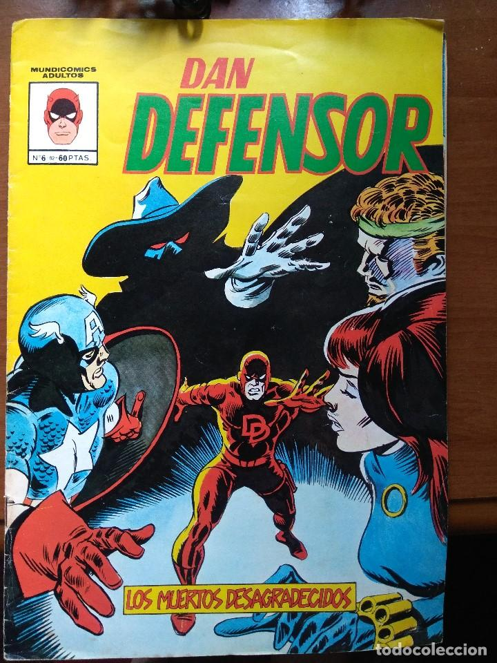 DAN DEFENSOR Nº 6 - MUNDICOMICS (Tebeos y Comics - Vértice - Dan Defensor)
