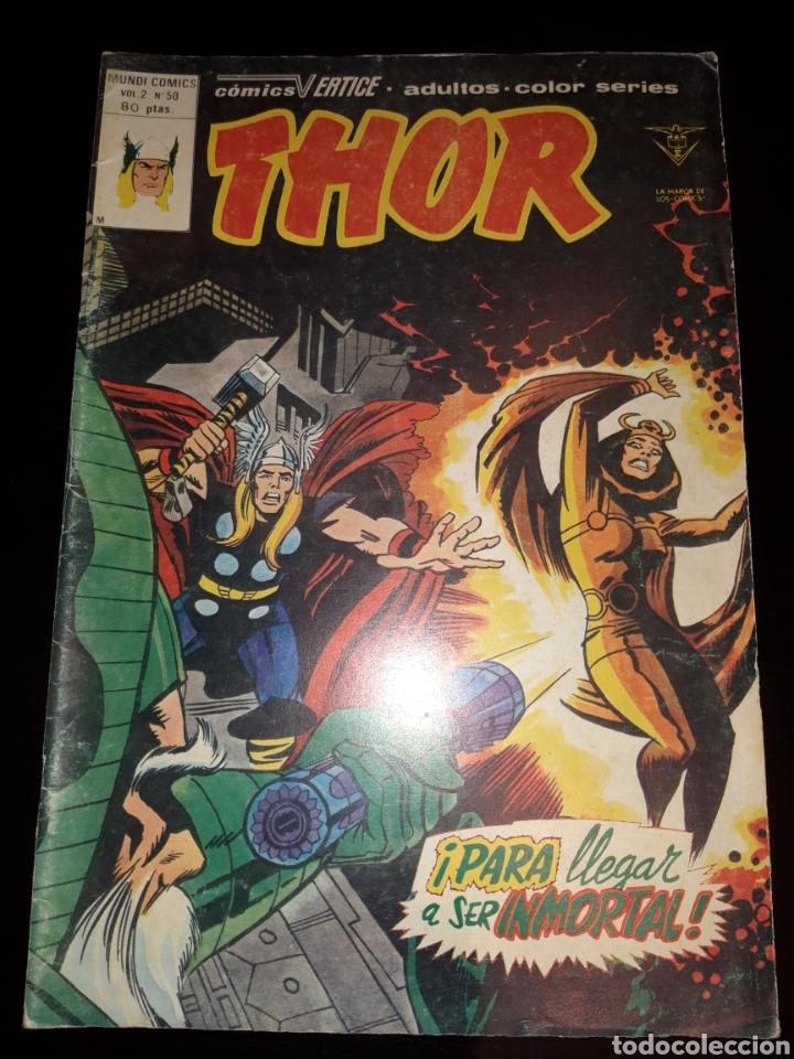 THOR VOL.2 N°50 - VERTICE (Tebeos y Comics - Vértice - Thor)