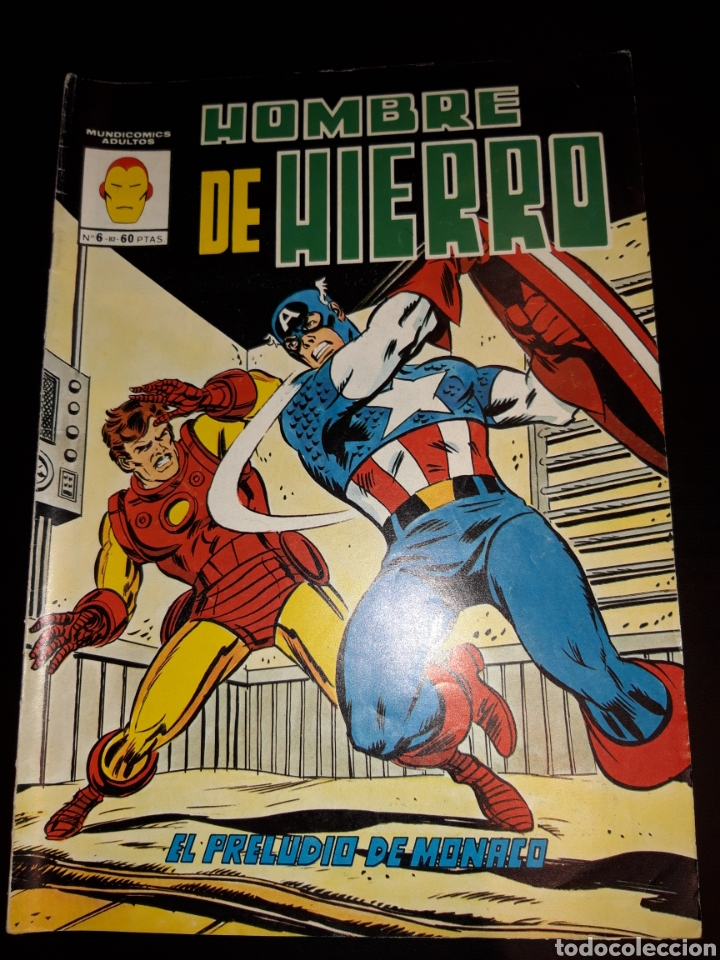HOMBRE DE HIERRO N°6 (Tebeos y Comics - Vértice - Hombre de Hierro)