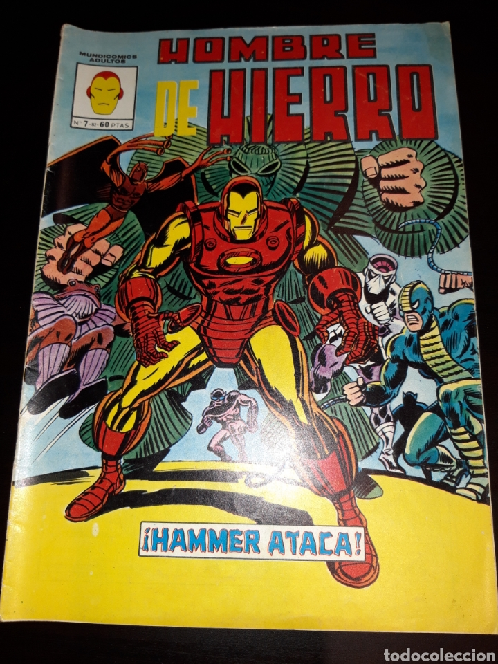 HOMBRE DE HIERRO N°7 - VERTICE (Tebeos y Comics - Vértice - Hombre de Hierro)