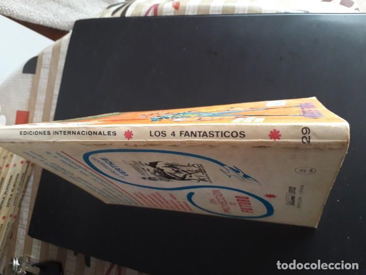 Cómics: LOS 4 FANTASTICOS N-29 COMPLETO CON GALERIA - Foto 3 - 171490615