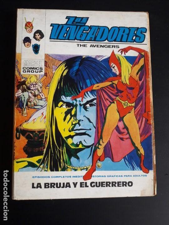 LOS VENGADORES N-34 COMPLETO (Tebeos y Comics - Vértice - Vengadores)