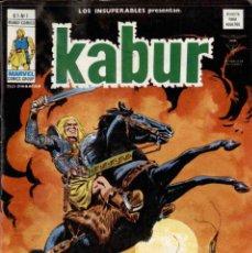 Comics : LOS INSUPERABLES NºS 1,2,3 - LA SAGA DE KABUR -. Lote 171627095