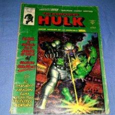Cómics: MUNDI-COMICS HULK LA MASA Nº 12 ED. VERTICE ORIGINAL DESDE 1 EURO VER FOTO Y DESCRIPCION. Lote 171652204