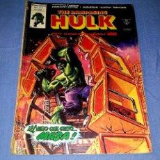 Cómics: MUNDI-COMICS HULK LA MASA Nº 11 ED. VERTICE ORIGINAL DESDE 1 EURO VER FOTO Y DESCRIPCION. Lote 171652303