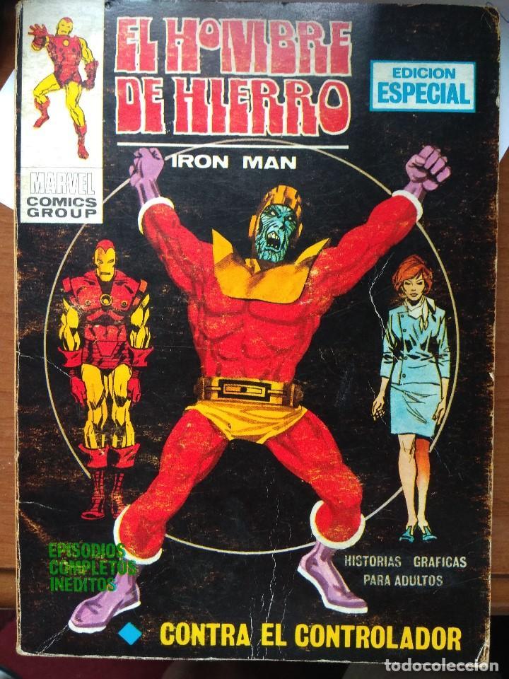 EL HOMBRE DE HIERRO Nº 5 - VÉRTICE TACO (Tebeos y Comics - Vértice - Hombre de Hierro)