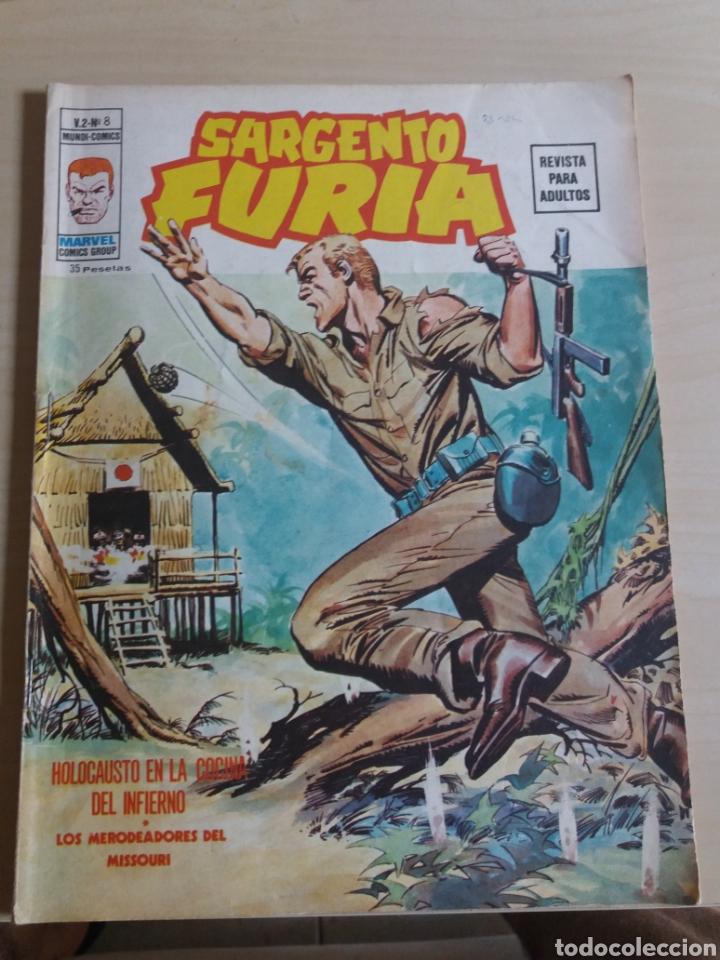 SARGENTO FURIA V.2 N°8 EDICIONES VERTICE (Tebeos y Comics - Vértice - Furia)