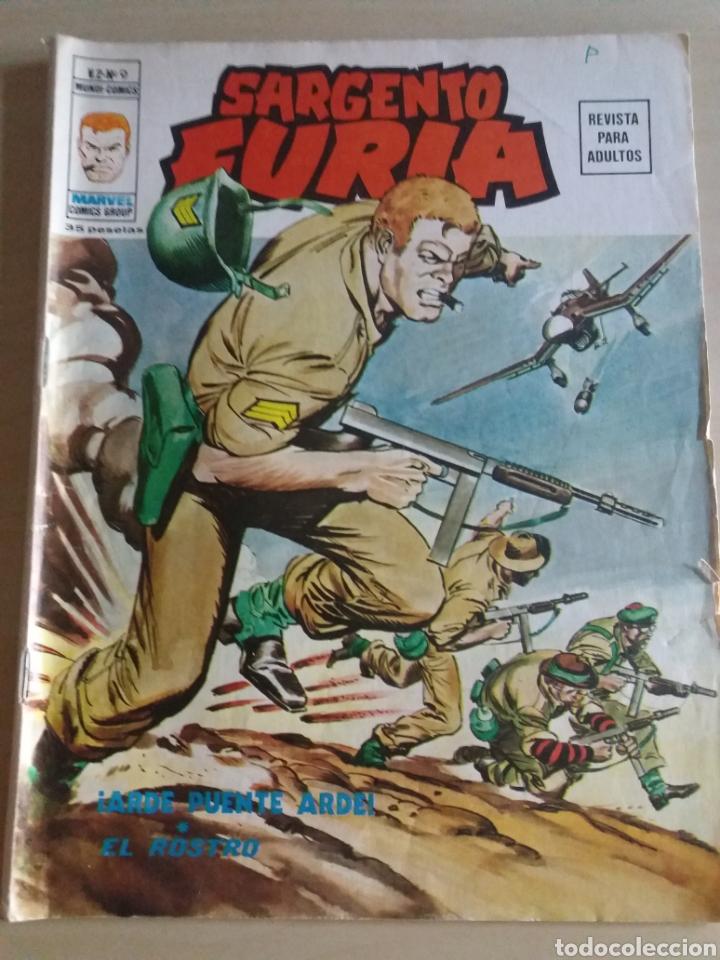 SARGENTO FURIA V. 2 N°9 EDICIONES VERTICE (Tebeos y Comics - Vértice - Furia)