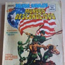 Cómics: RELATOS SALVAJES MUNDOS DESCONOCIDOS V1N4 EL JUGUETE BÉLICO. Lote 171806570