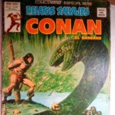 Fumetti: RELATOS SALVAJES- Nº 63 -CONAN- MÁS ALLÁ DEL RÍO NEGRO-1977-GRAN JOHN BUSCEMA-CORRECTO-LEAN-1615. Lote 171825373