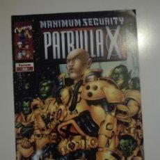 Cómics: MAXIMUM SECURITY. PATRULLA X Nº 66. Lote 171827732