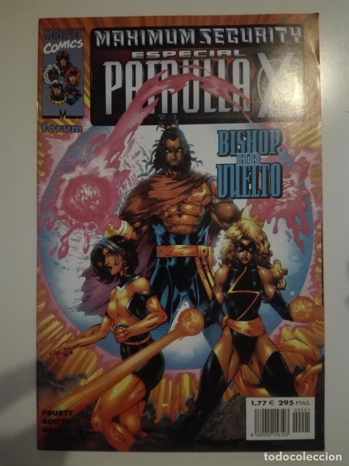 ESPECIAL PATRULLA-X : MAXIMUM SECURITY / PRUETT, BOOTH, REGLA (Tebeos y Comics - Vértice - Patrulla X)