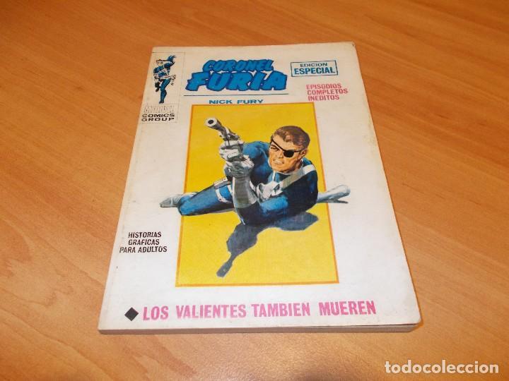 CORONEL FURIA V.1 Nº 10 !! MUY BUEN ESTADO !! (Tebeos y Comics - Vértice - Furia)